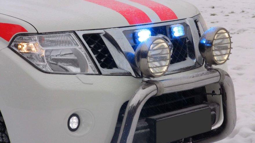 """""""Nissan Navara"""" greitosios pagalbos automobilis"""