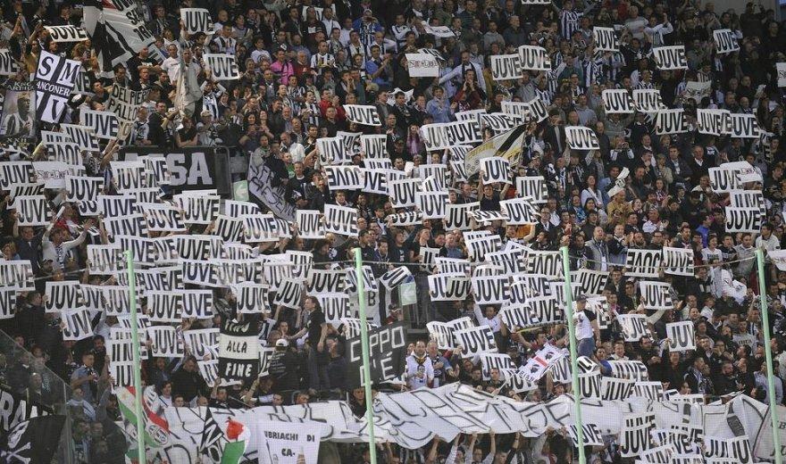 """Turino """"Juventus"""" gerbėjai"""