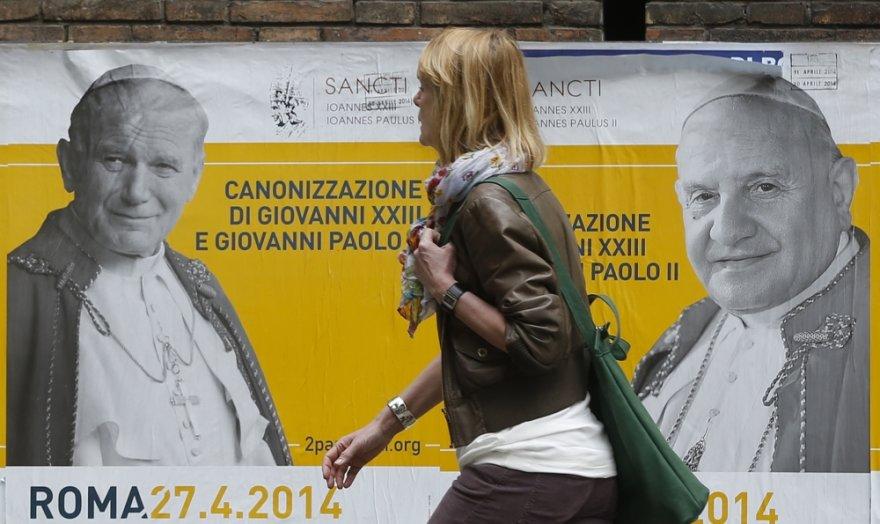Roma ruošiasi dvigubai kanonizacijai
