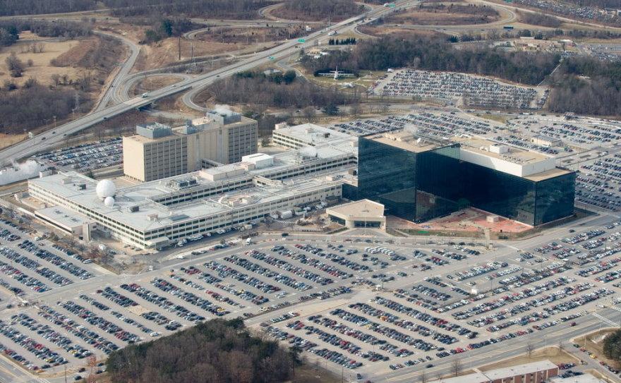 JAV Nacionalinės saugumo agentūros būstinė Merilande