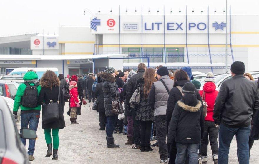 14-oji tarptautinė Vilniaus knygų mugė sulaukė daug lankytojų