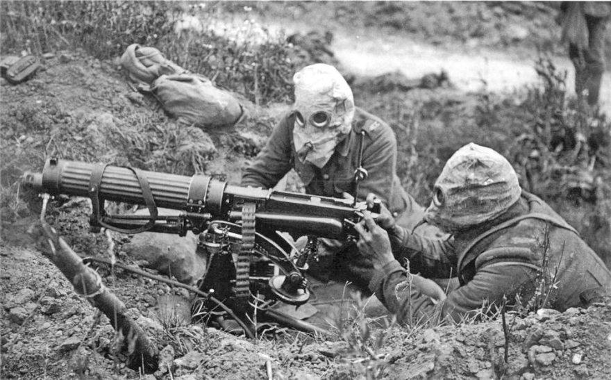 Britų kulkosvaidininkai Somos mūšyje (1916 m.)