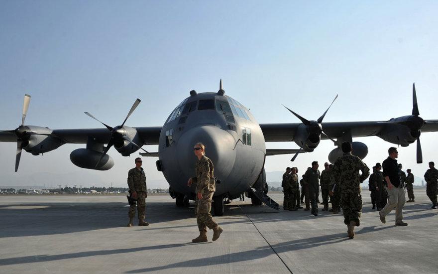 "Lėktuvo ""C-130H Hercules"" perdavimo Afganistanui ceremonija"
