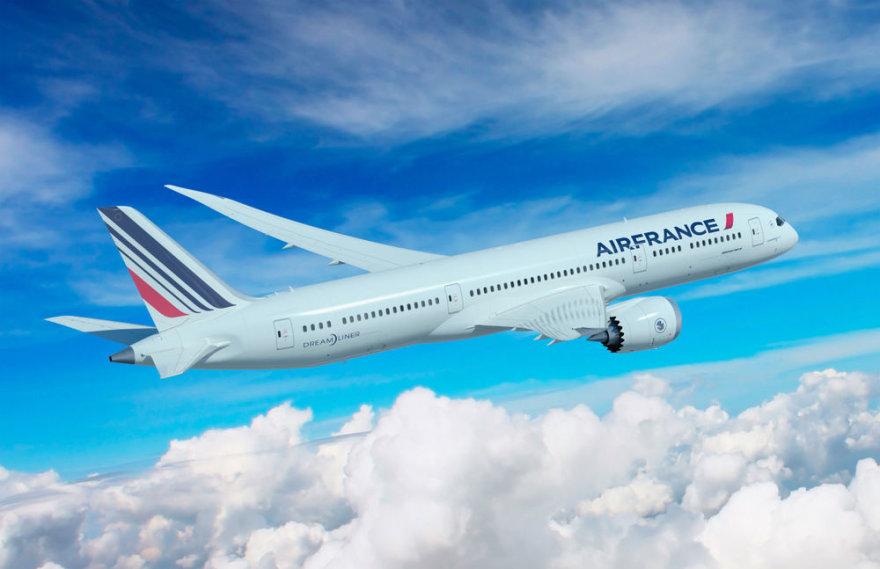 "Prancūzijos-Nyderlandų skrydžių bendrovės ""Air France-KLM"" kėltuvas"