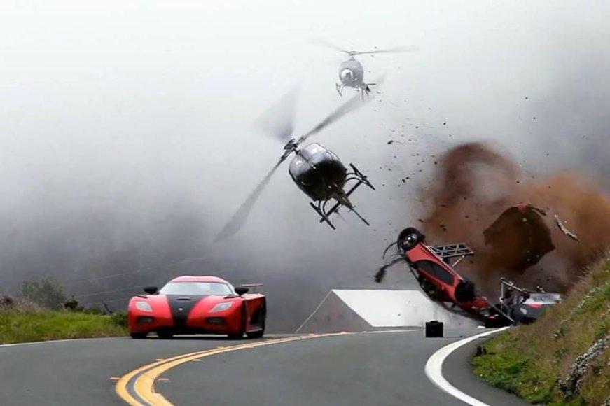 """Kadras iš filmo """"Need for speed. Ištroškę greičio"""""""