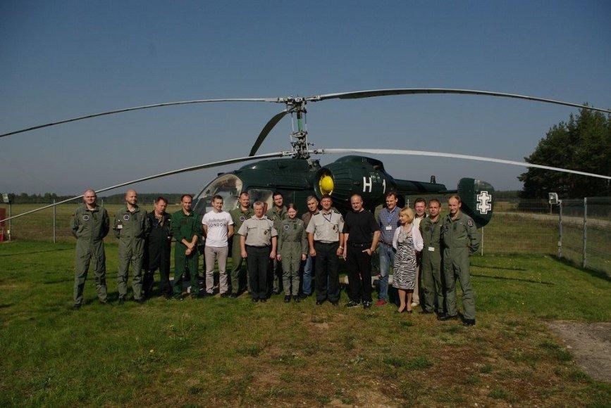 """Lietuviškas sraigtasparnis """"Sidabrinis titanas"""""""