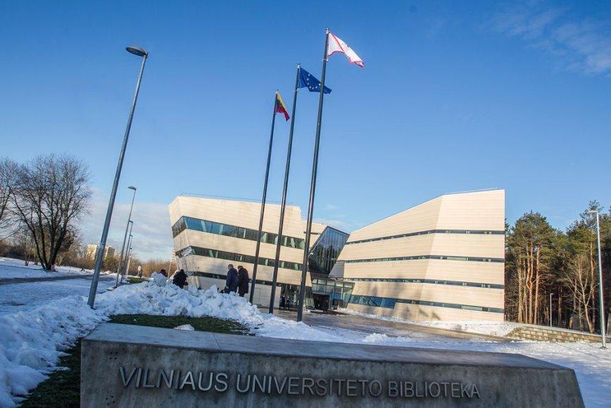 Naujojoje Vilniaus universiteto bibliotekoje