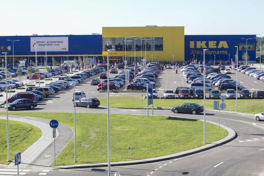 """""""Ikea"""" parduotuvės atidarymas"""