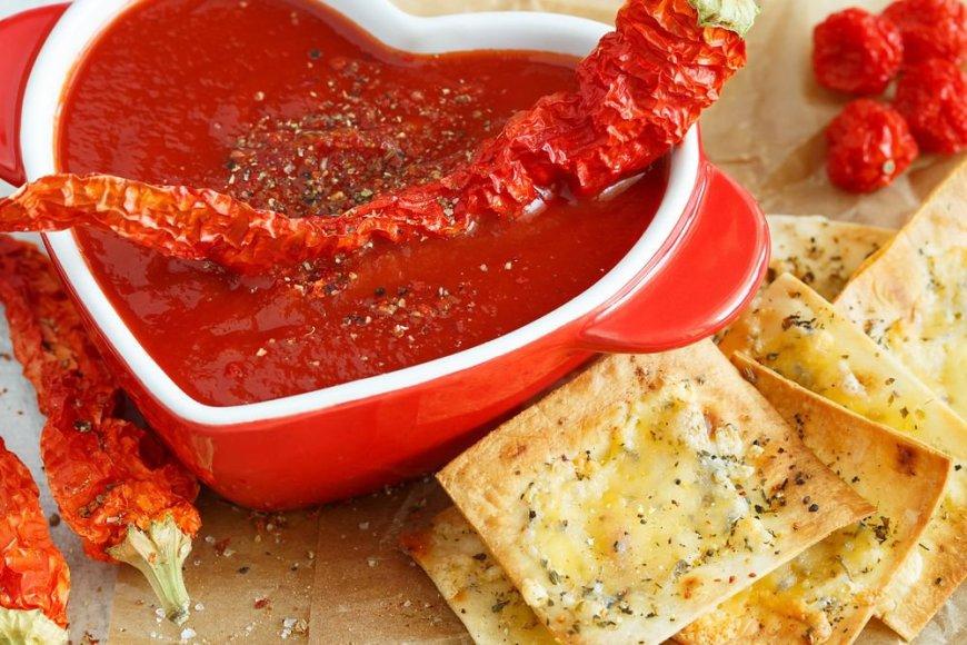 Ugninga kreminė pomidorų sriuba