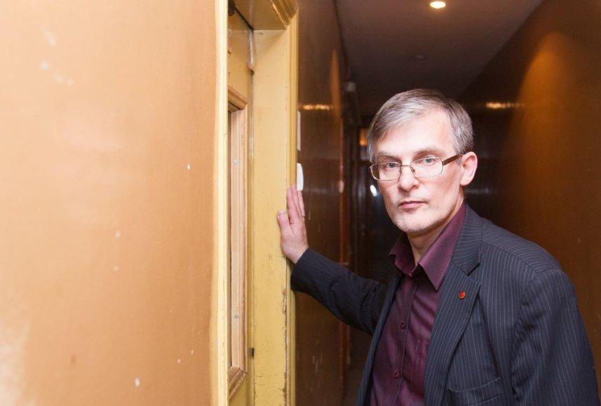 Julius Sabatauskas policijos komisariate