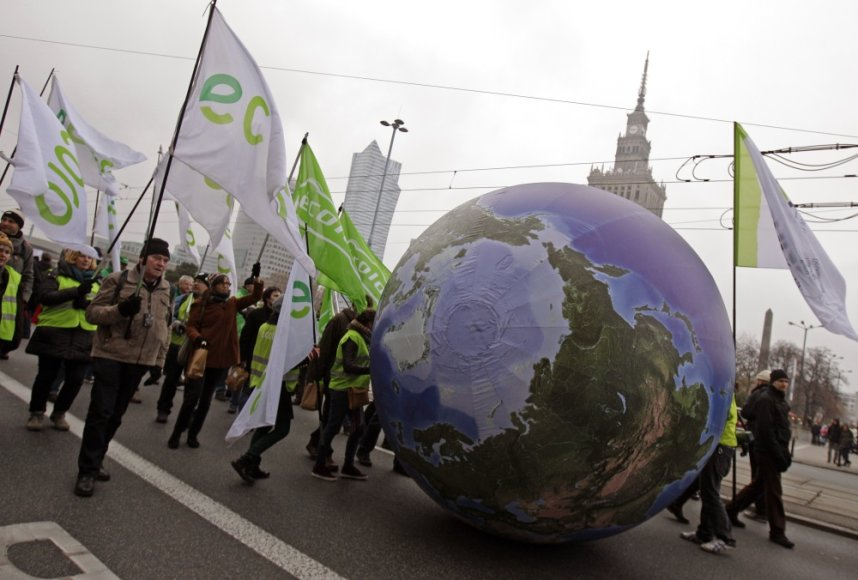 """Eisena """"Už klimatą ir socialinį teisingumą"""""""