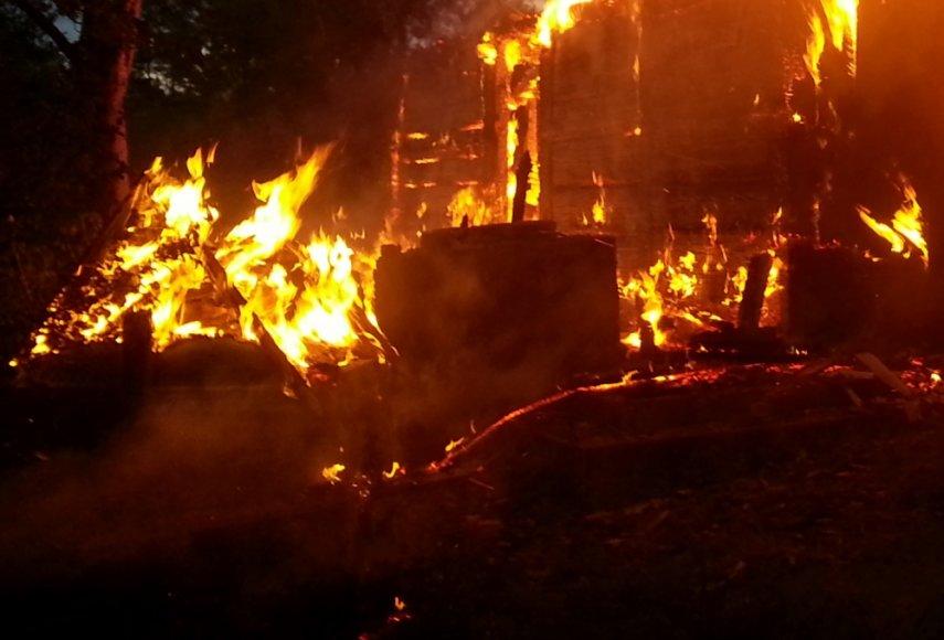 Asociatyvinė iliustracija: gaisras