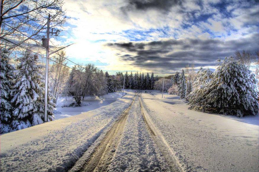 Kelias žiemą