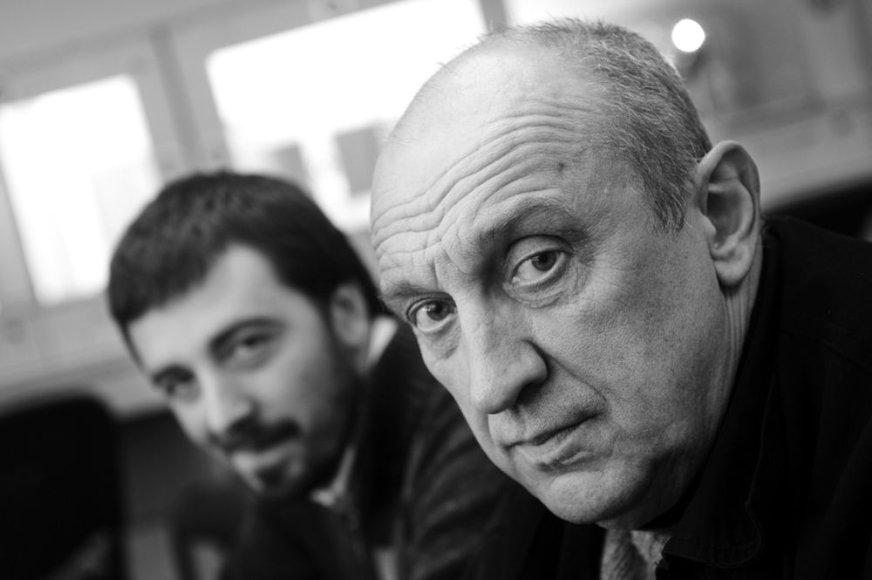 Mindaugas Nastaravičius ir Valentinas Masalskis
