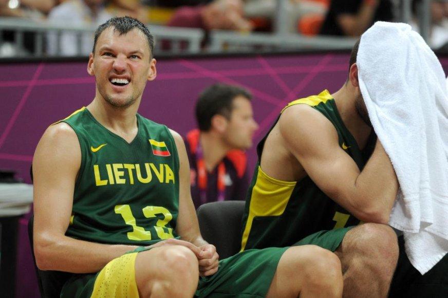 Šarūnas Jasikevičius Londono olimpiadoje