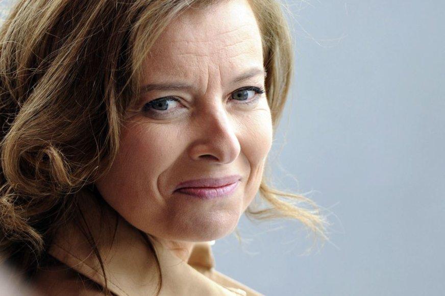 Prancūzijos prezidento F.Holland'eo gyvenimo draugė Valerie Trierweiler