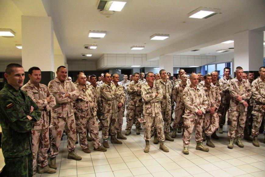 Kartotiniai rezervo karių mokymai