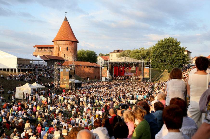 """Festivalis """"Operetė Kauno pilyje"""""""