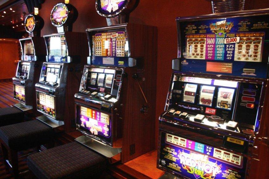 Lošimų automatų salonas