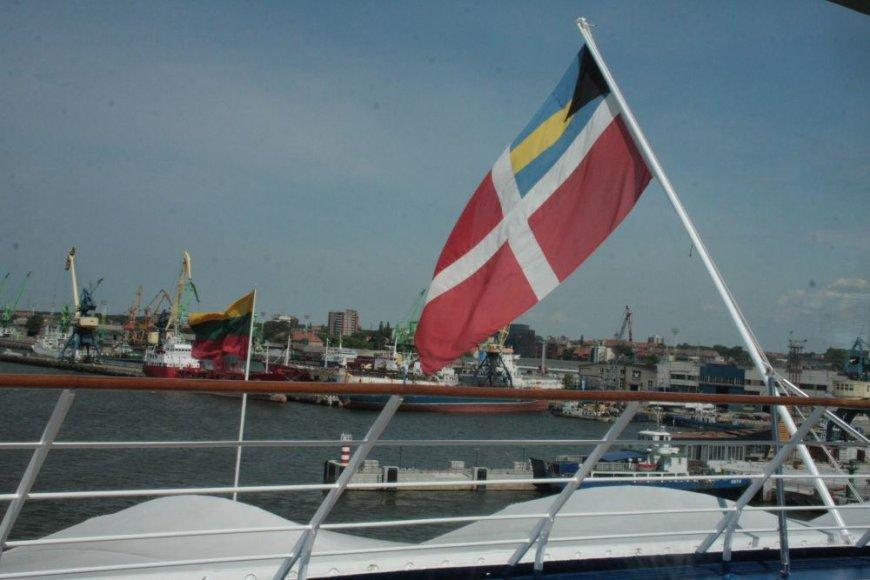 "Klaipėdoje vieši laivas ""Silver Whisper"""