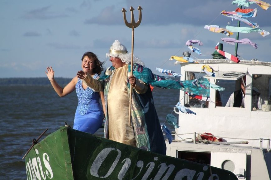 Žvejų šventės akimirkos