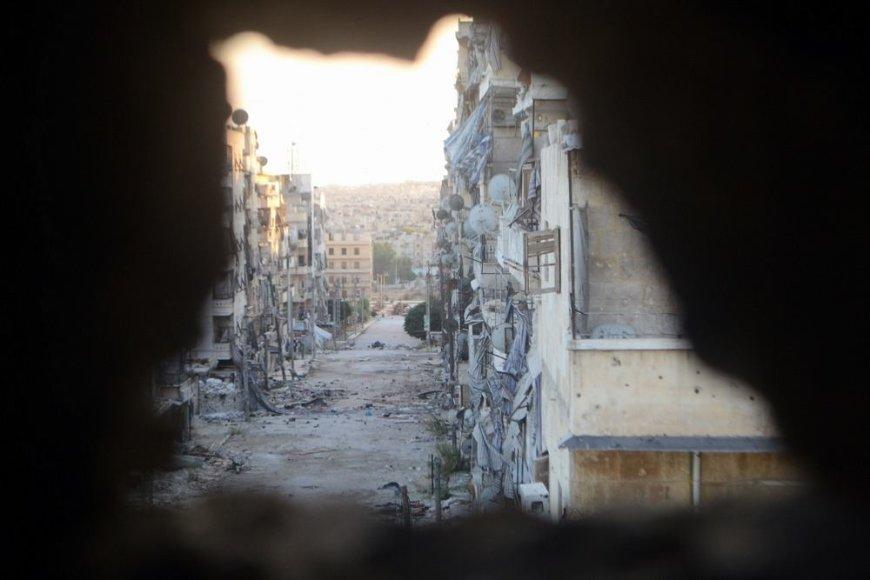 Gatvė Sirijoje