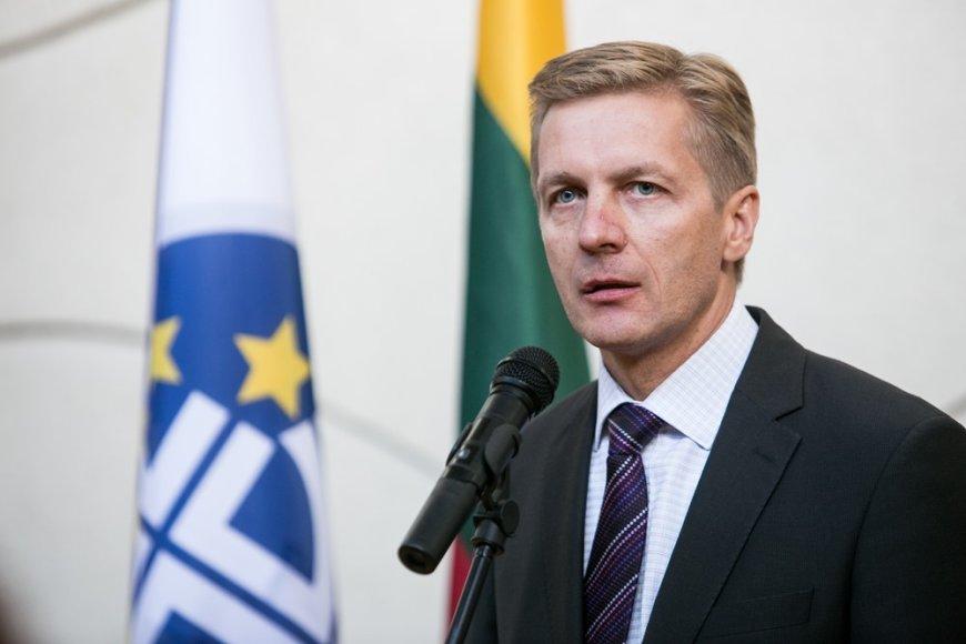 Klaipėdos uosto vadovas Arvydas Vaitkus