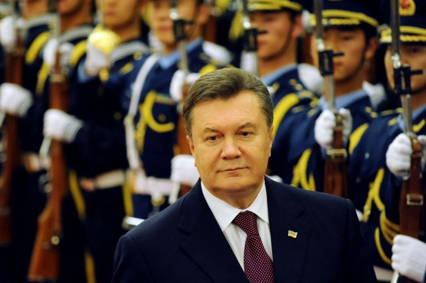 Ukrainos prezidentas Viktoras Janukovyčius