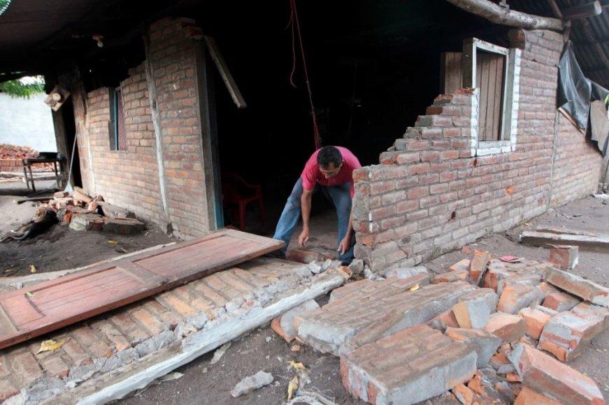 Nikaragva po žemės drebėjimo