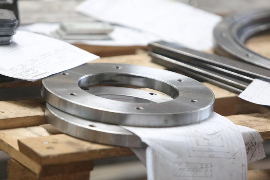 Lietuvos Respublikos Prezidentė lankėsi metalo apdirbimo įmonėje