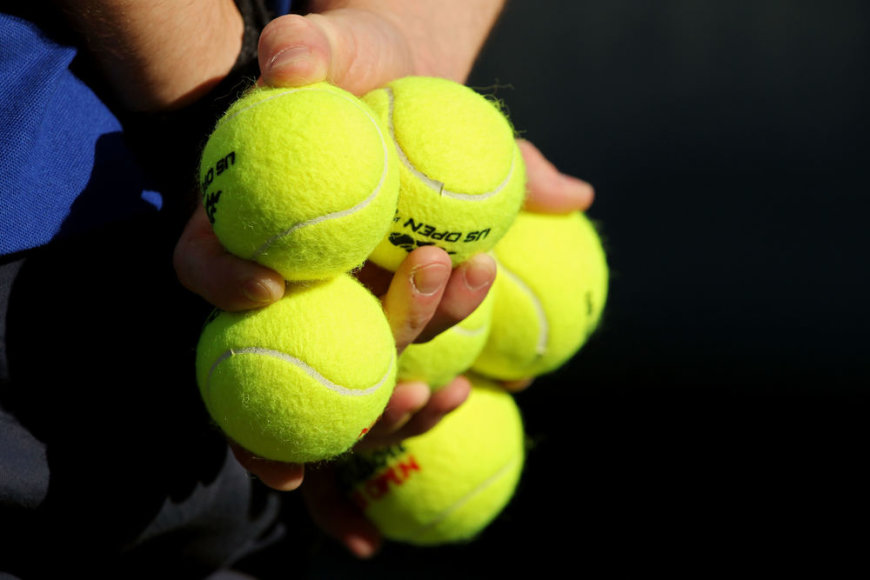 Teniso kamuoliukai