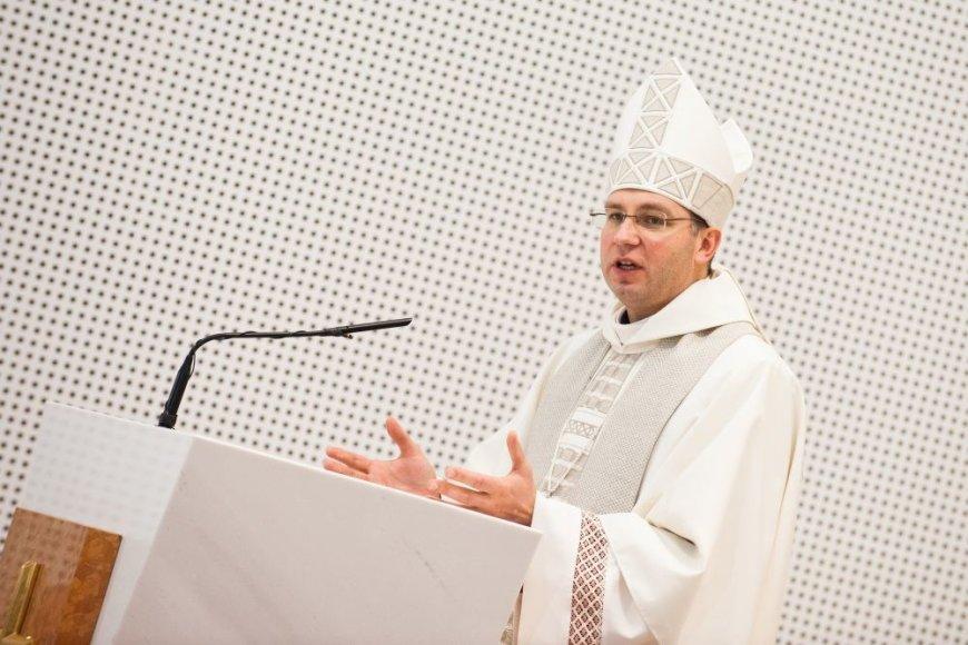 Vyskupas Kęstutis Kėvalas