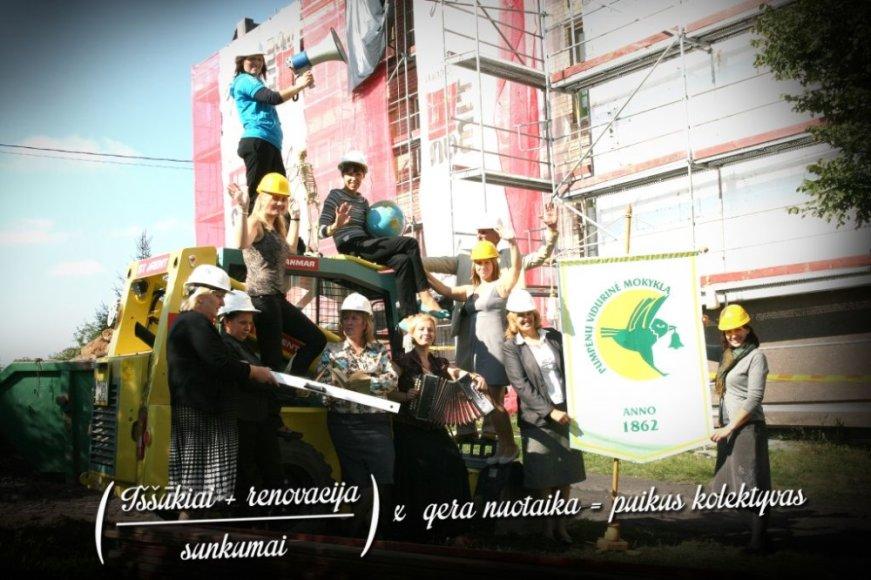 Nugalėtojai – Pasvalio r. Pumpėnų vidurinės mokyklos mokytojai.