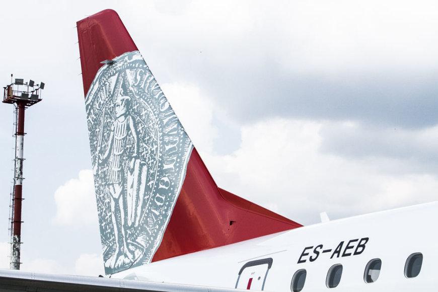 """Bendrovės """"Air Lituanica"""" inauguracija ir pirmasis skrydis"""
