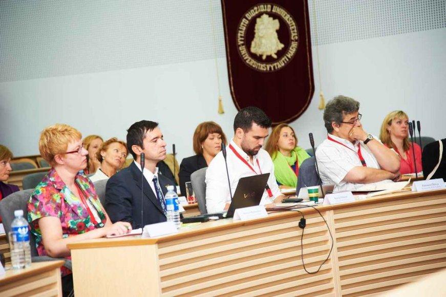 Pasaulio lietuvių bendruomenės suvažiavimo akimirka
