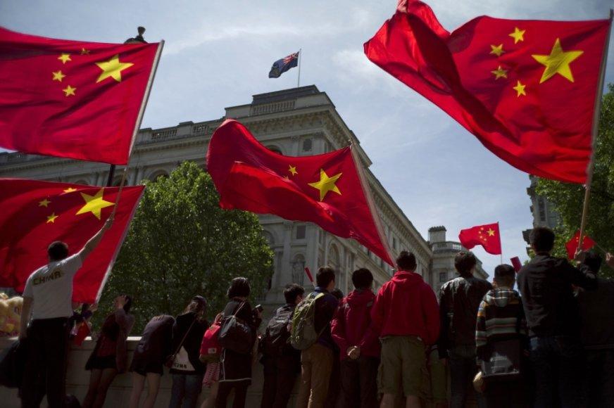 Kinijos vėliava.
