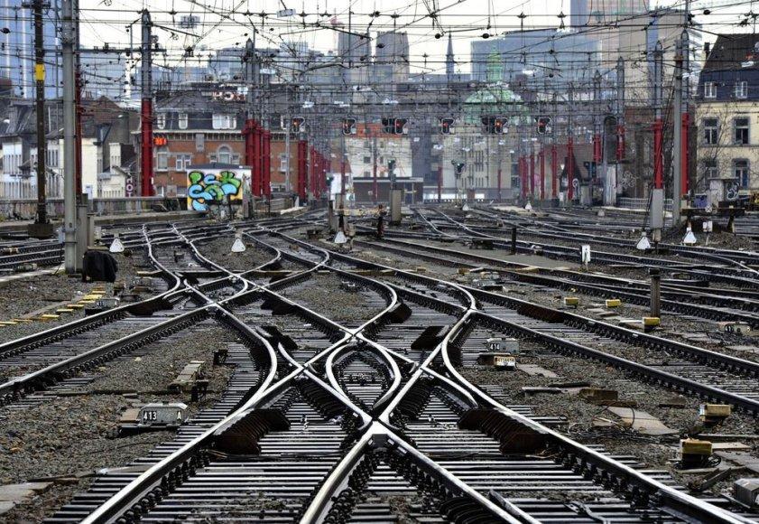 Traukinio bėgiai