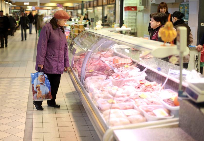 Mėsos turguje