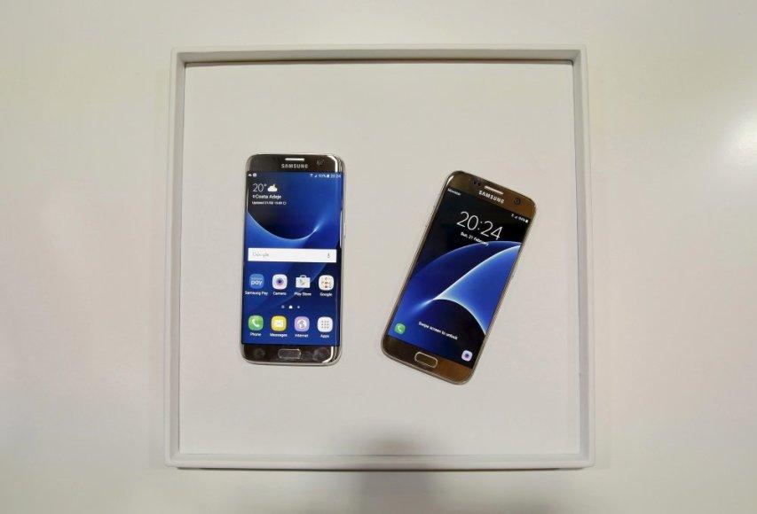 """Samsung"" pristatė ""Galaxy S7"" ir ""Galaxy S7 Edge"" telefonus"
