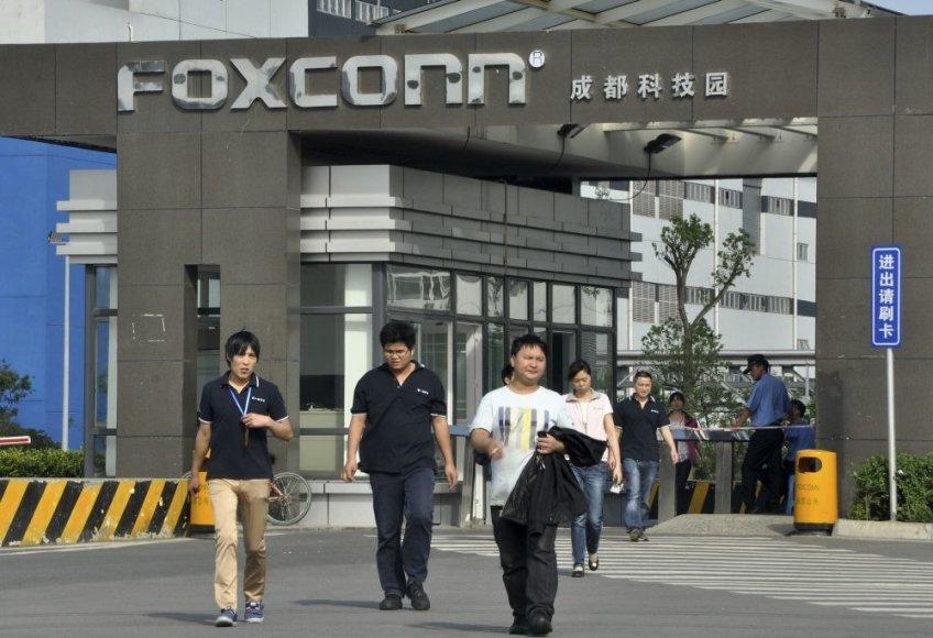 """""""Foxconn"""" gamykla"""