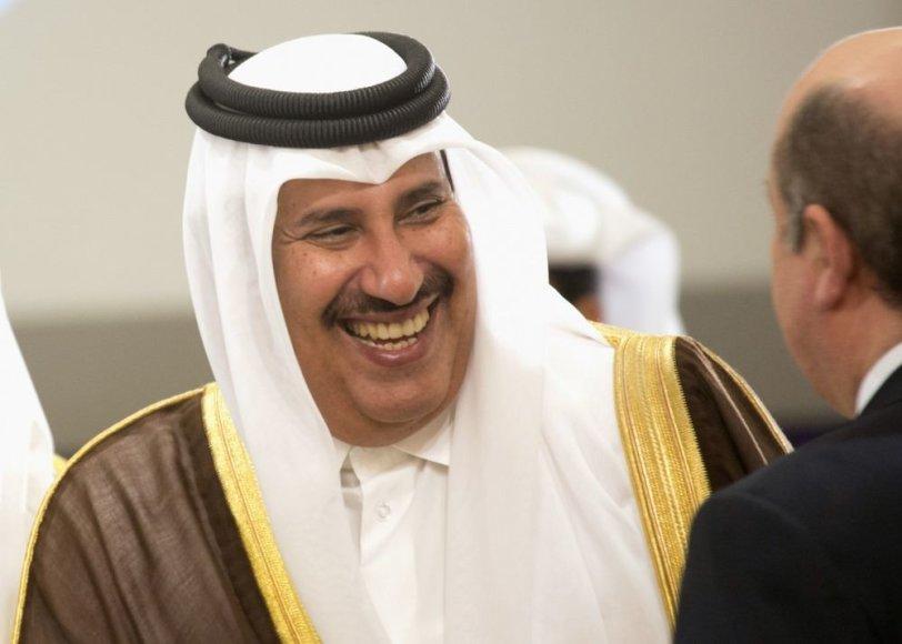 Kataro ministras pirmininkas Hamadas bin Jassimas al Thani
