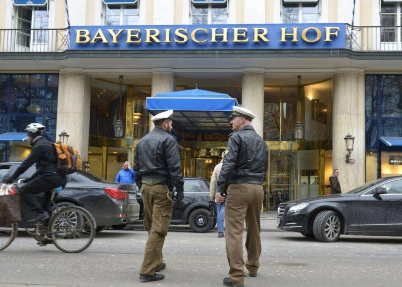 Viešbutis Miunchene, kur vyks pasaulio lyderių konferencija