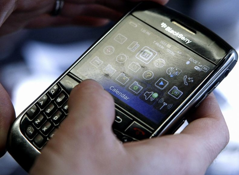 """BlackBerry"" telefonas"