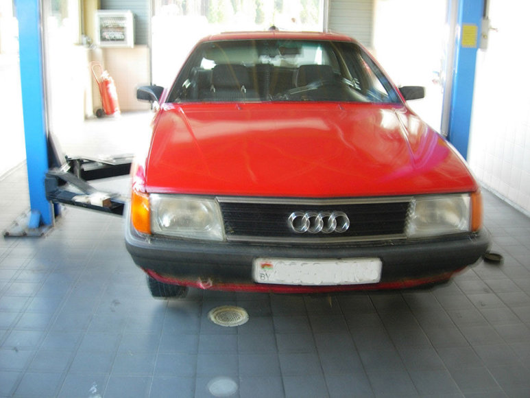"""Sulaikytas """"Audi 100"""""""