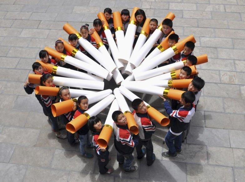 Dienos be tabako minėjimas Kinijoje