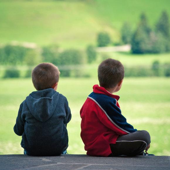 Du vaikai