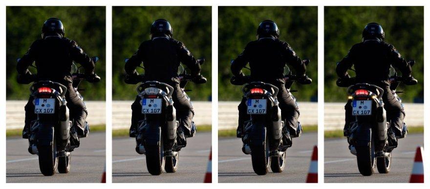 BMW motociklo užpakalinis stabdžių žibintas