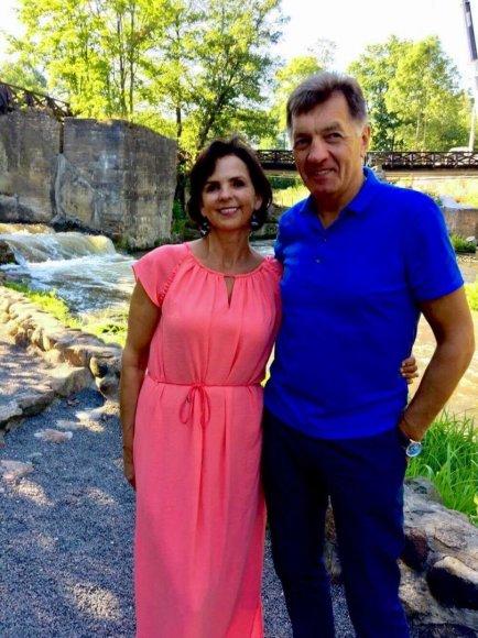 Algirdas ir Janina Butkevičiai