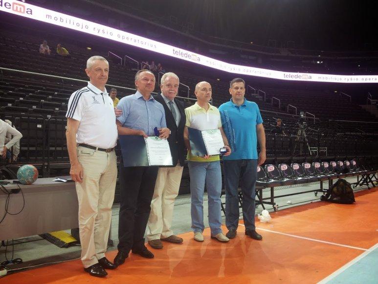 Europos rankinio federacijos apdovanojimai