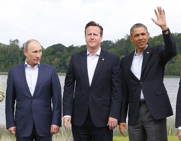 Didžiojo aštuoneto (G-8) lyderiai